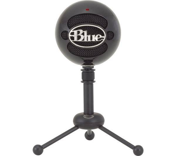 BLUE MICROPHONES Microphone USB Snowball Gloss noir