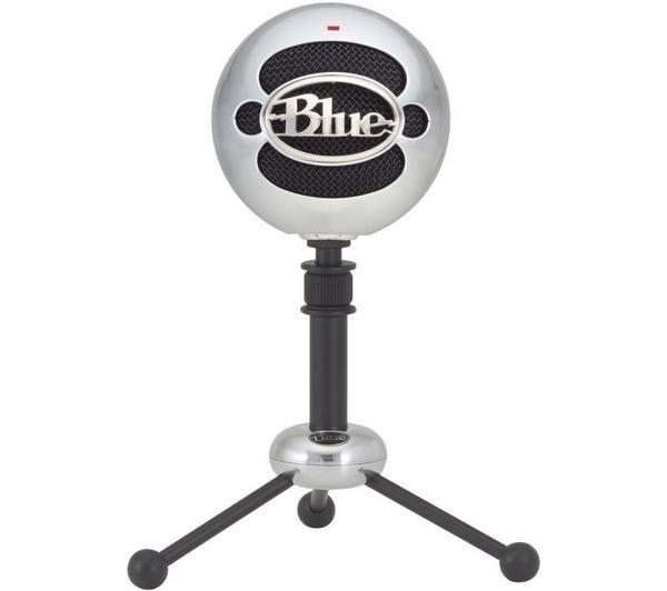 BLUE MICROPHONES Microphone USB Snowball aluminium brossé