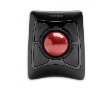 KENSINGTON Wireless Trackball Bluetooth+USB Trackball Ambidextre Noir