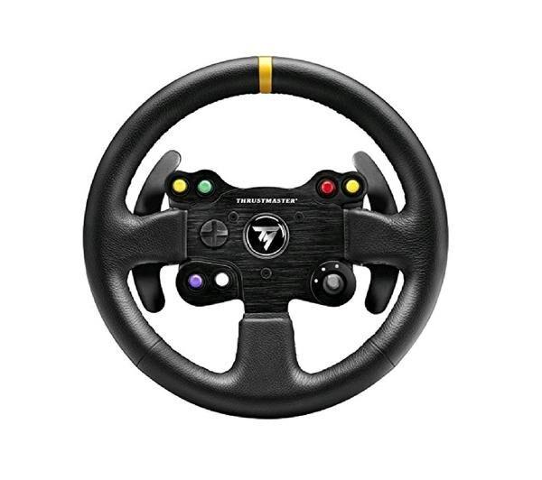 THRUSTMASTER Volant de remplacement TM Leather 28 GT Wheel Add-on (compatible T300 RS / T300 Ferrari GTE / T500 RS / Ferrari F1 Integral T500 / TX Racing Wheel Ferrari 458 Italia)