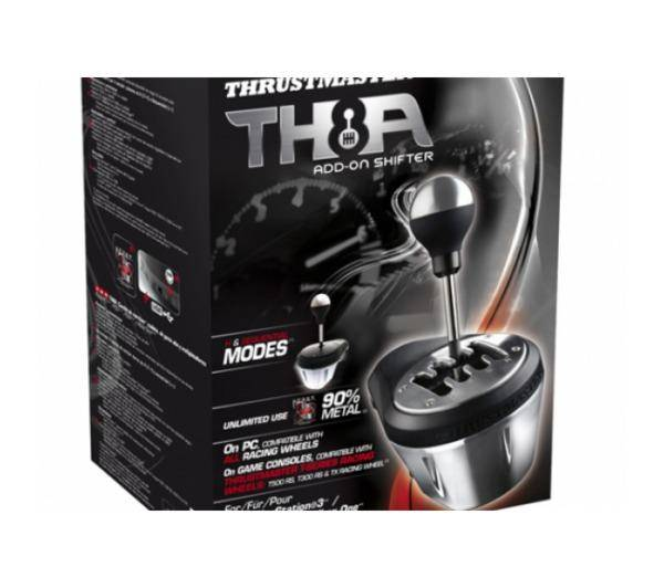 THRUSTMASTER Boite à 7 vitesses TH8 Add-On Shifter pour T300RS / T500 RS / T300 Ferrari GTE / TX Racing Wheel