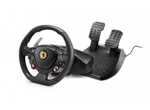 THRUSTMASTER T80 Ferrari 488 GTB Edition Volant + pédales PlayStation 4 Noir