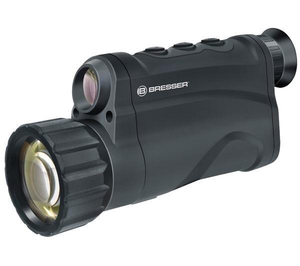 BRESSER Appareil de vision nocturne numérique avec fonction enregistrement 5 x 50 Noir - 1877300