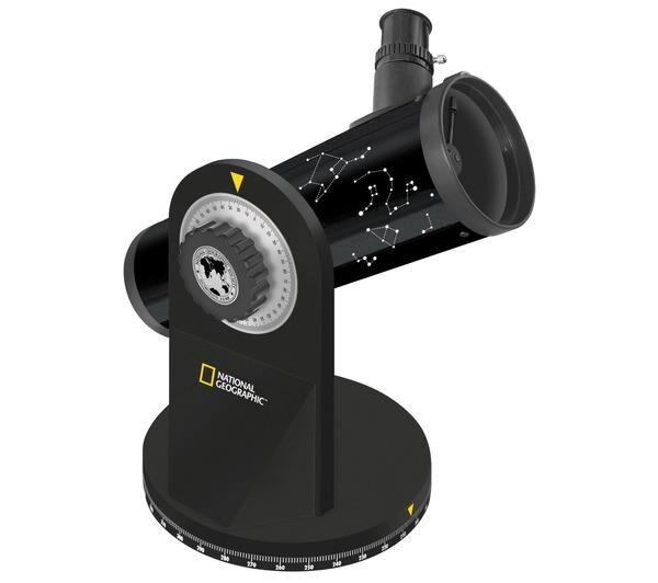 NATIONAL GEOGRAPHIC Téléscope à réflecteur Dobson 76/350 mm National Geographic-Télescope