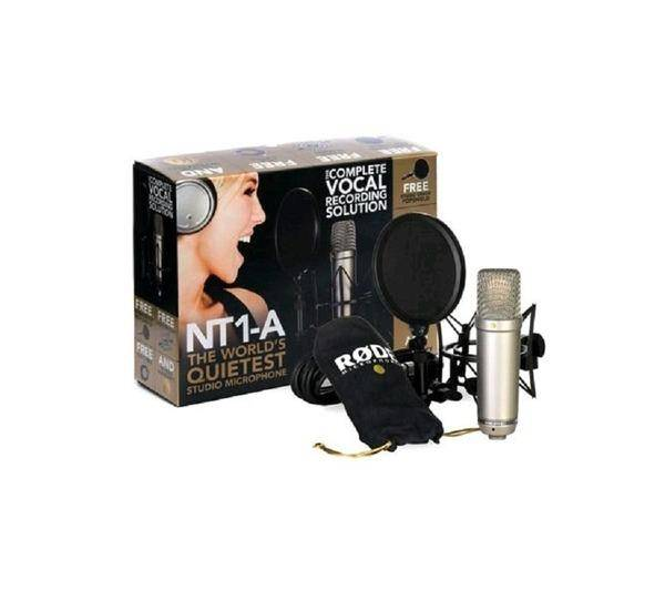 RODE Microphone NT1-A V2 Micro Condensateur large capsule