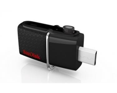 SANDISK 128GB Ultra Dual USB 3.0 128Go USB 3.0 (3.1 Gen 1) Type A Noir lecteur USB flash