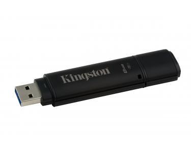 KINGSTON Technology DataTraveler 4000G2 with Management 8GB 8Go USB 3.0 Noir lecteur USB flash