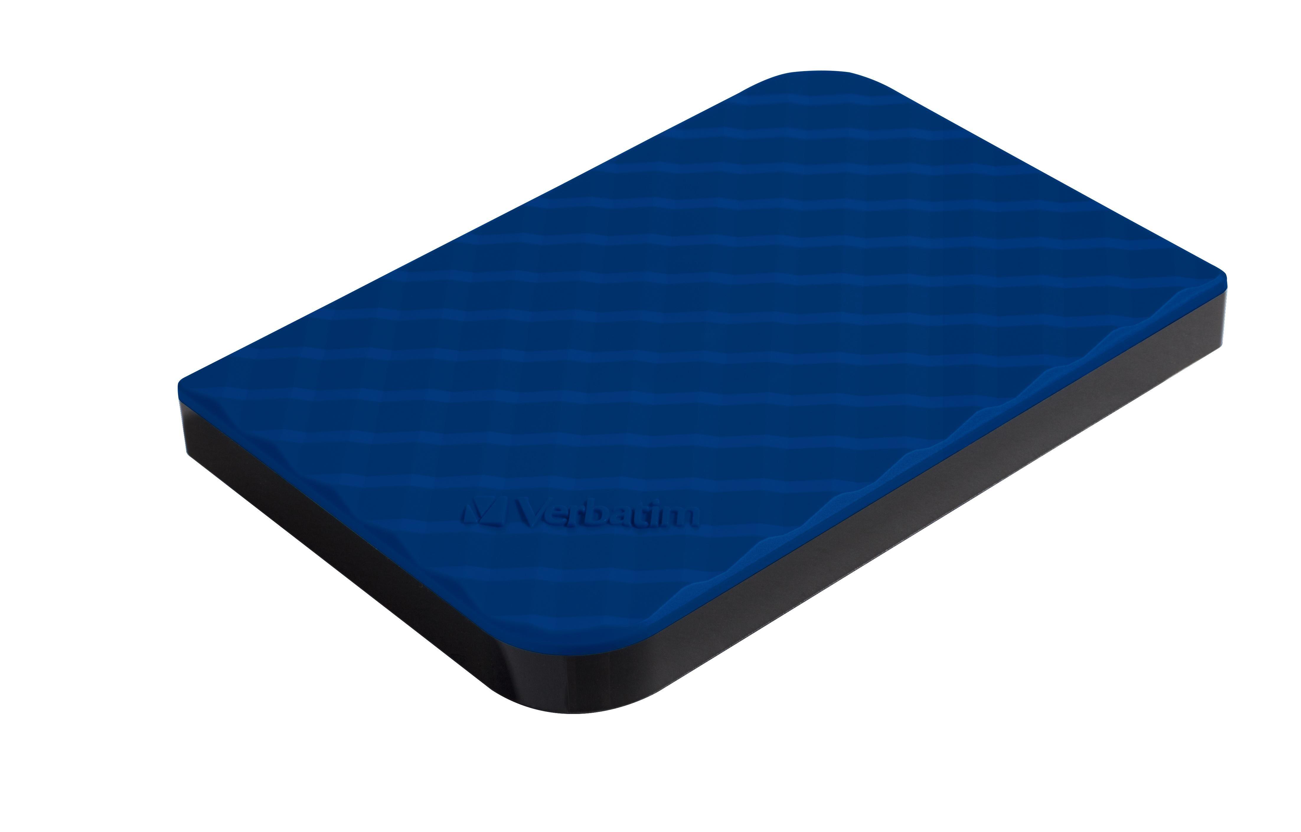 VERBATIM Disque dur portable USB Store 'n' Go 3.0, 1 To - Bleu