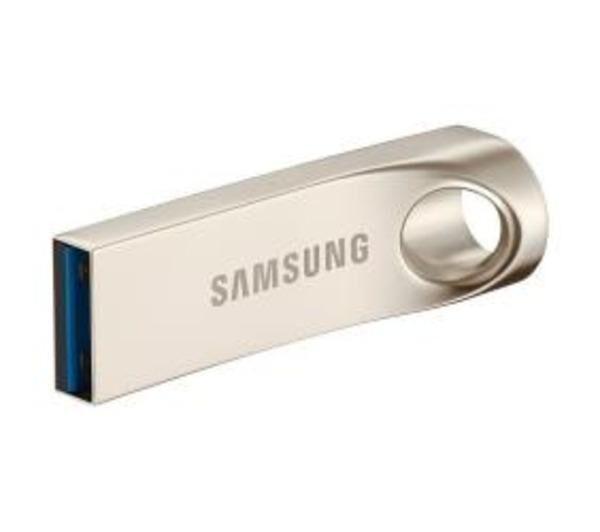 SAMSUNG BAR MUF-128BA - Clé USB - 128 Go - USB 3.0 - or