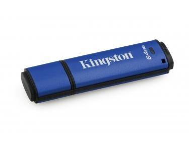 KINGSTON Technology DataTraveler Vault Privacy 3.0 64GB 64Go USB 3.0 Bleu lecteur USB flash
