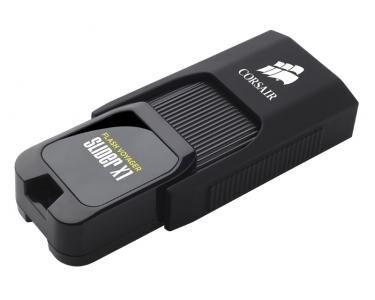 CORSAIR Voyager Slider X1 128GB 128Go USB 3.0 (3.1 Gen 1) Type A Noir lecteur USB flash