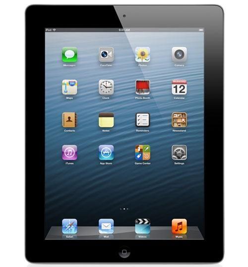 APPLE iPad 4 16GB WIFI 3G Noir