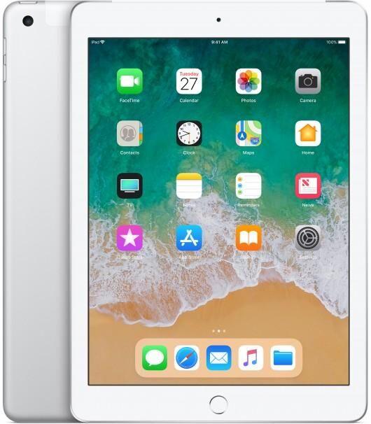 APPLE iPad 128Go 3G 4G Argent tablette