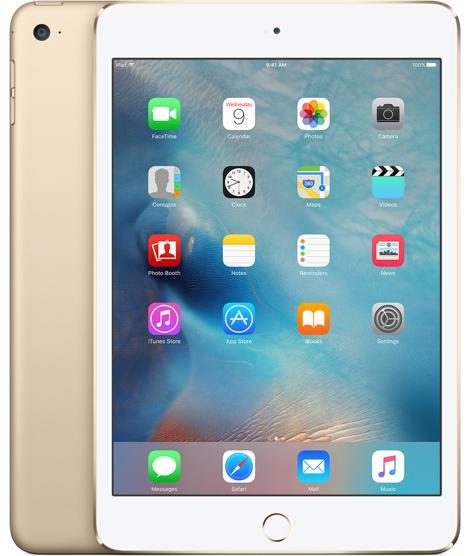 APPLE iPad mini 4 tablette A8 128 Go 3G 4G Or