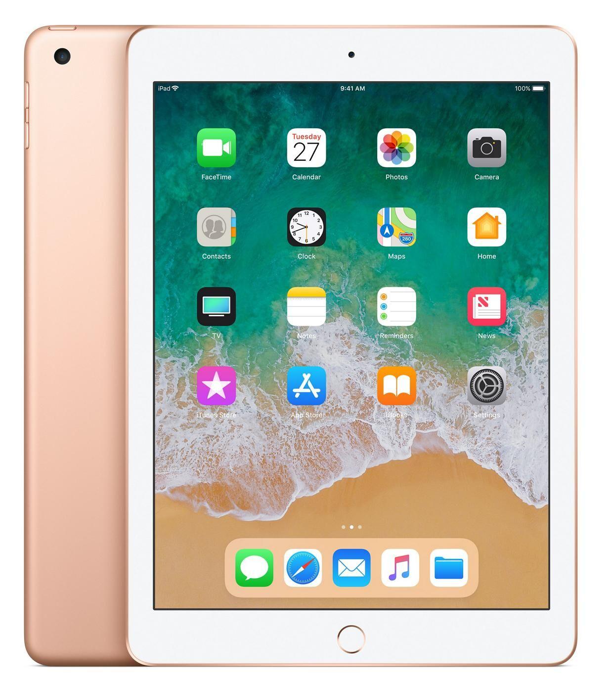 APPLE iPad tablette A10 32 Go Or