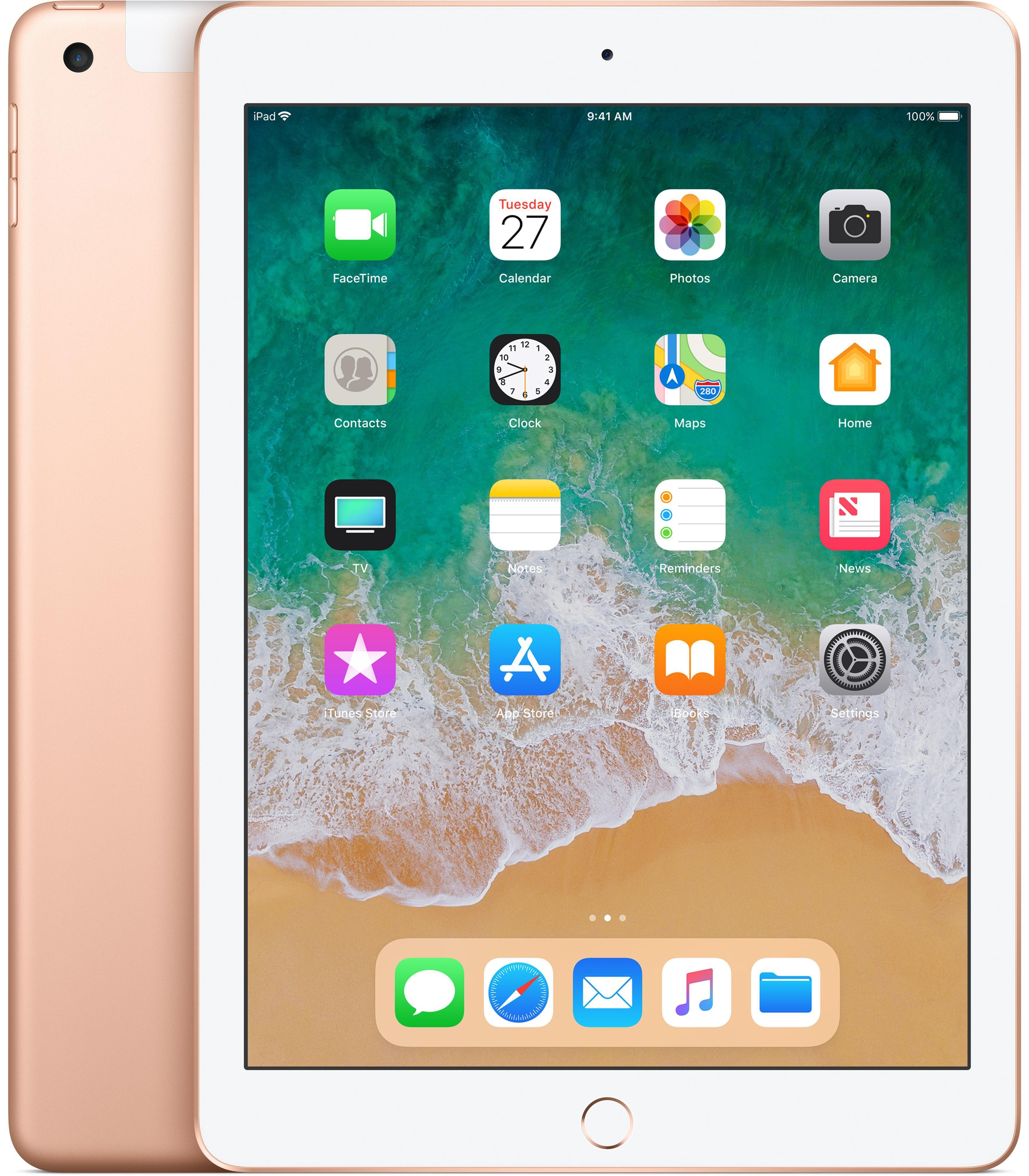 APPLE iPad tablette A10 32 Go 3G 4G Or