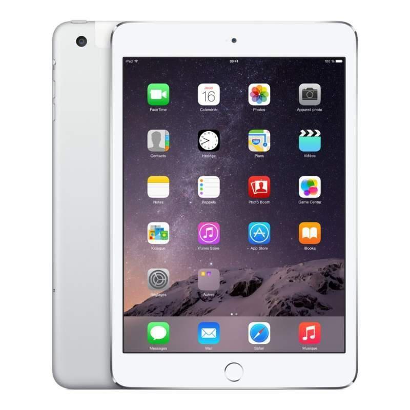 APPLE iPad Mini 2 - 16 Go - Wifi + Cellular (4G) - Argent