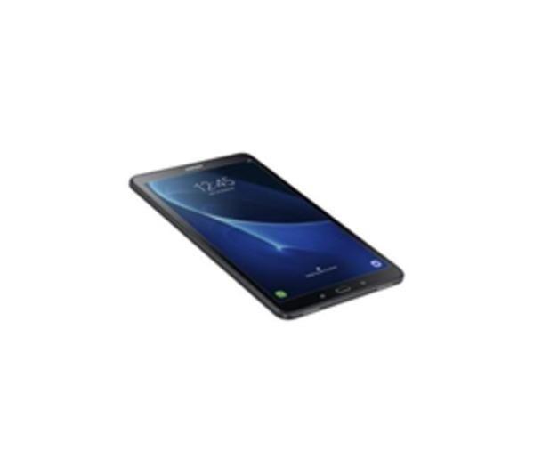 "SAMSUNG Galaxy Tab A (2016) - Tablette - Android 6.0 (Marshmallow) - 16 Go eMMC - 10.1"" Plane to Line Switching (PLS) ( 1920 x 1200 ) - Appareil-photo arrière+ appareil-photo avant - Logement microSD - Wi-Fi, Bluetooth - 4G - noir"