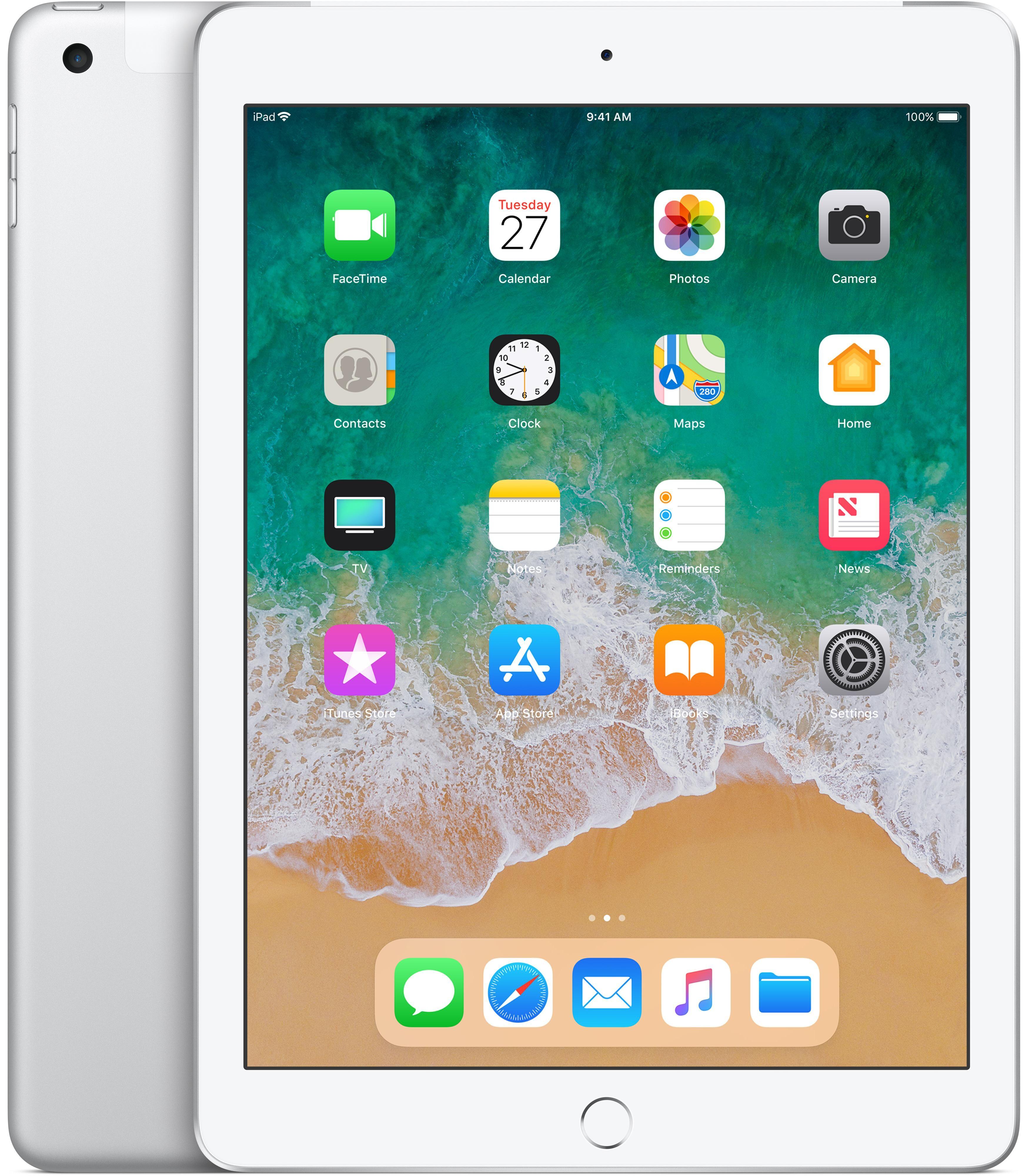 APPLE iPad tablette A10 32 Go 3G 4G Argent