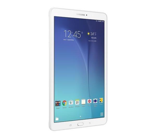 SAMSUNG Galaxy Tab E - 9,6 pouces - 8 Go - Blanc - Tablette
