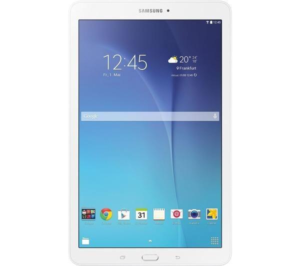 SAMSUNG Tablette Galaxy E 9.6 8GB WiFi Blanc