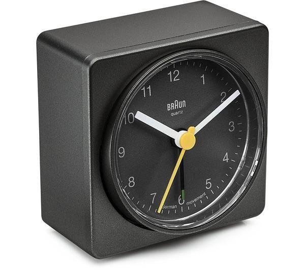 BRAUN bnc 011 alarm clock noir