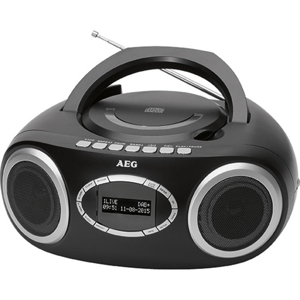 AEG Radio stéréo Bluetooth+DAB Noire SR4370