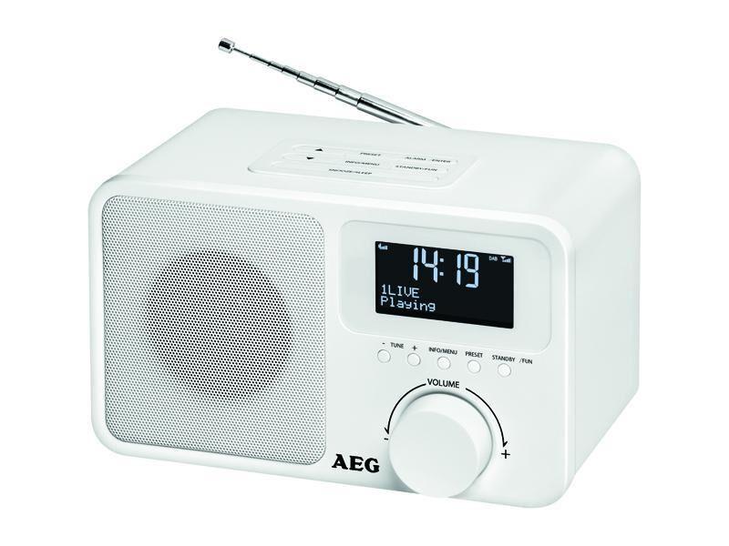 NONAME Radio DAB+ AEG DAB 4154 - Blanc
