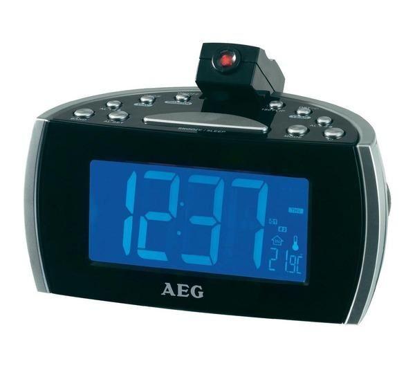 AEG Radio réveil avec projecteur MRC 4119 P