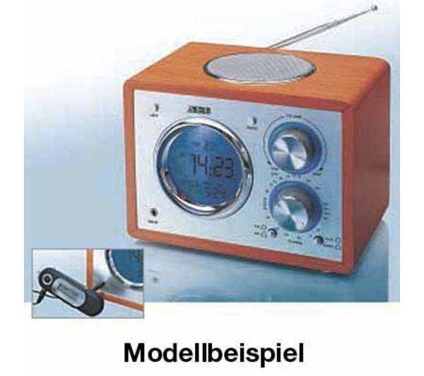 AEG Radio-Réveil MR 4104 (Noir)