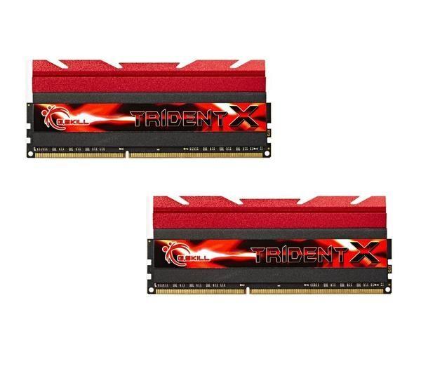 GSKILL Mémoire LONG DIMM DDR3 DIMM 16 GB DDR3-2133 Kit F3-2133C9D-16GTX, série TridentX 16 GB CL9 11/11/31 2 barettes