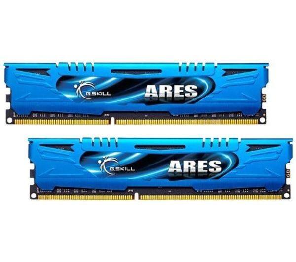 GSKILL Mémoire PC G.Skill Ares Blue Series 16 Go (2 x 8 Go) DDR3 2400 MHz CL11