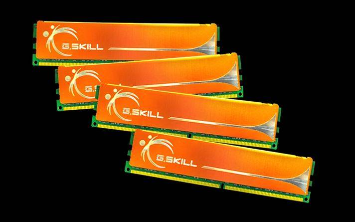 GSKILL Mémoire LONG DIMM DDR2 G.Skill DIMM 16 GB DDR2-800 Quad Kit F2-6400CL6Q-16GBMQ, MQ Series 16 GB CL6 06/06/18 4 barettes