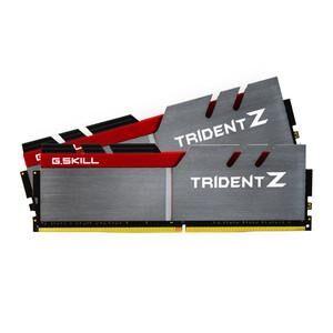 GSKILL Mémoire LONG DIMM DDR4 G.Skill DIMM 16GB DDR4-2800 Kit F4-2800C15D-16GTZB, Trident Z 16 GB CL15 16-16-35 2 barettes