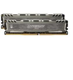 CRUCIAL Ballistix Sport LT 16GB DDR4-2666 module de mémoire 16 Go 2666 MHz ECC