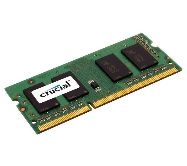 CRUCIAL Mémoire - 8 Go - DIMM 240 broches - DDR3 - 1600 MHz PC3-12800 - mémoire sans tampon - ECC
