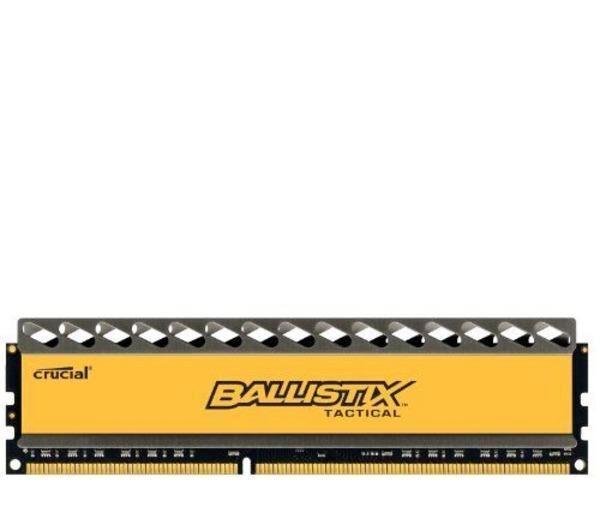 CRUCIAL 8GB Mémoire RAM DDR3 1866 MT/s PC3-14900 CL9 @1.5V Ballistix Tactical UDIMM 240pin