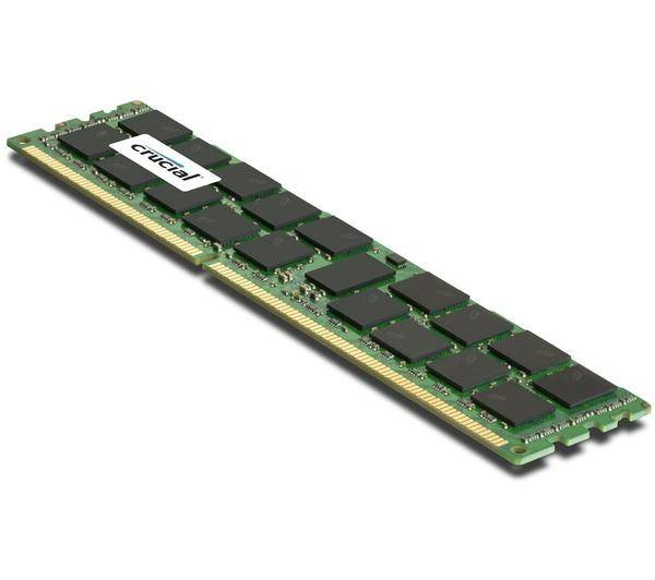 CRUCIAL Mémoire 16 Go DDR3 ECC RDIMM 1866 MHz Mac Pro 2013