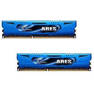 GSKILL Mémoire LONG DIMM DDR3 G.Skill DIMM 16 GB DDR3-1866 Kit F3-1866C10D-16GAB, série Ares 16 GB CL10 10/11/30 2 barettes