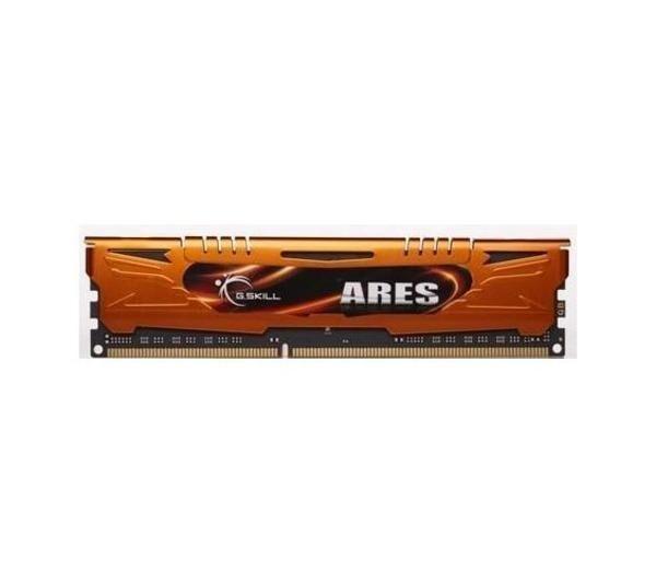 GSKILL Mémoire LONG DIMM DDR3 G.Skill DIMM 16 GB DDR3-1600 Kit F3-1600C10D-16GAO, série Ares 16 GB CL10 10/10/30 2 barettes