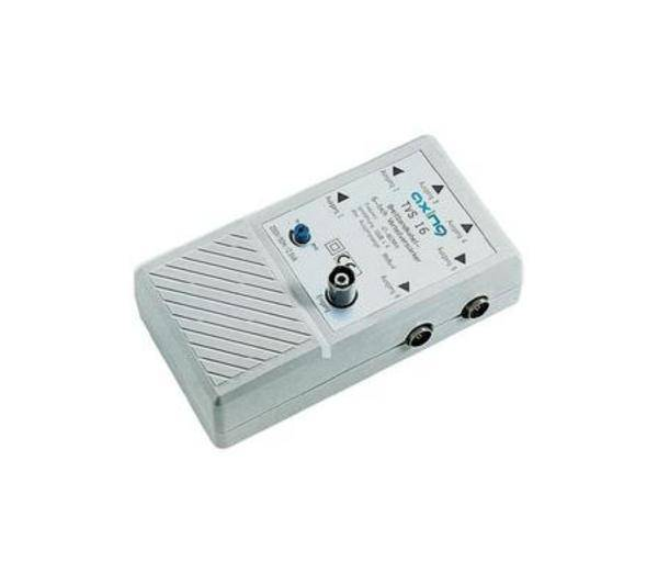 AXING Amplificateur distributeur TVS 16 6 sorties-Répartiteur et matériel d'installation