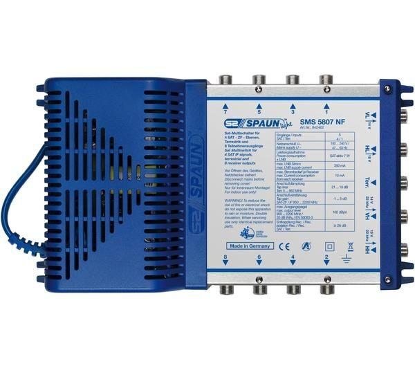 SPAUN sms 5807 5 inputs/8 outputs