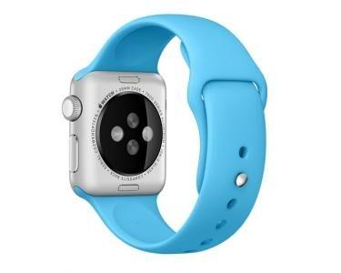 APPLE MLDA2ZM/A Bande Bleu Fluoroélastomère accessoire pour smartwatch