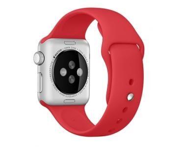 APPLE MLD82ZM/A Bande Rouge Fluoroélastomère accessoire pour smartwatch