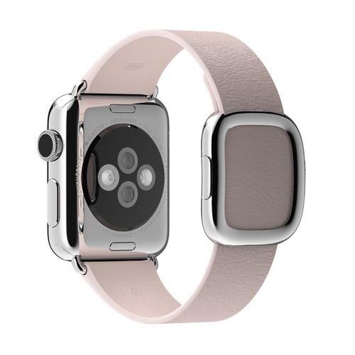 APPLE MJ592ZM/A accessoire pour smartwatch Bande Rose Cuir