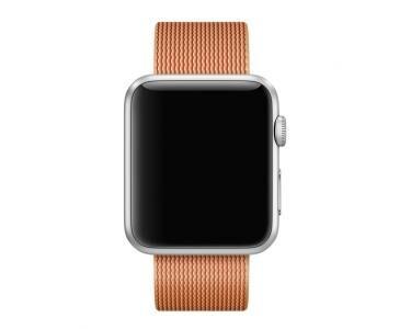APPLE MMA62ZM/A Bande Or, Rouge Nylon accessoire pour smartwatch