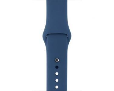 APPLE MNJ22ZM/A Bande Bleu Fluoroélastomère accessoire pour smartwatch