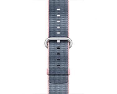 APPLE MNKG2ZM/A Bande Bleu, Rose Nylon accessoire pour smartwatch