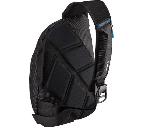"""THULE Sac à dos pour ordinateur portable 11.6"""", 12.1"""", 12.5"""", 13"""", 13.3"""" Sac à dos Crossover Sling Bag, couleur noire noir"""