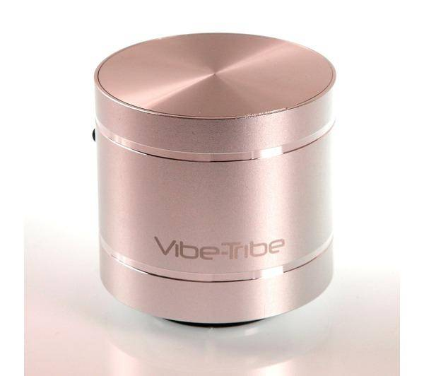 VIBE-TRIBE Troll Silver: Haut-parleurs a Vibration multimédia & MP3 Player, Radio FM, SD card reader & Remote Control
